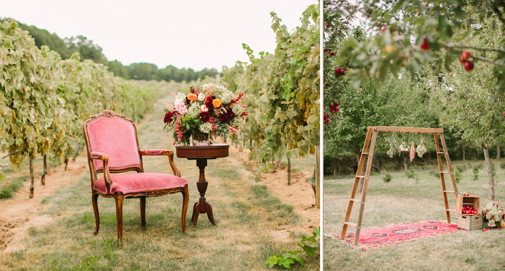 Rent Farm Tables And Vintage Furniture In Nj Weddings And Events